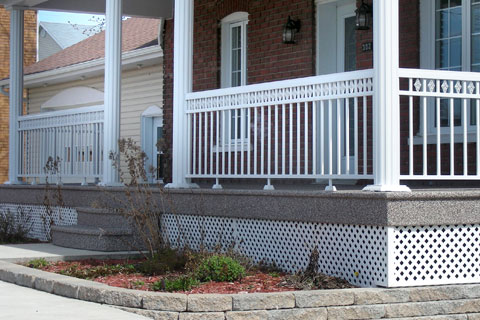 Protection pour vos balcons.