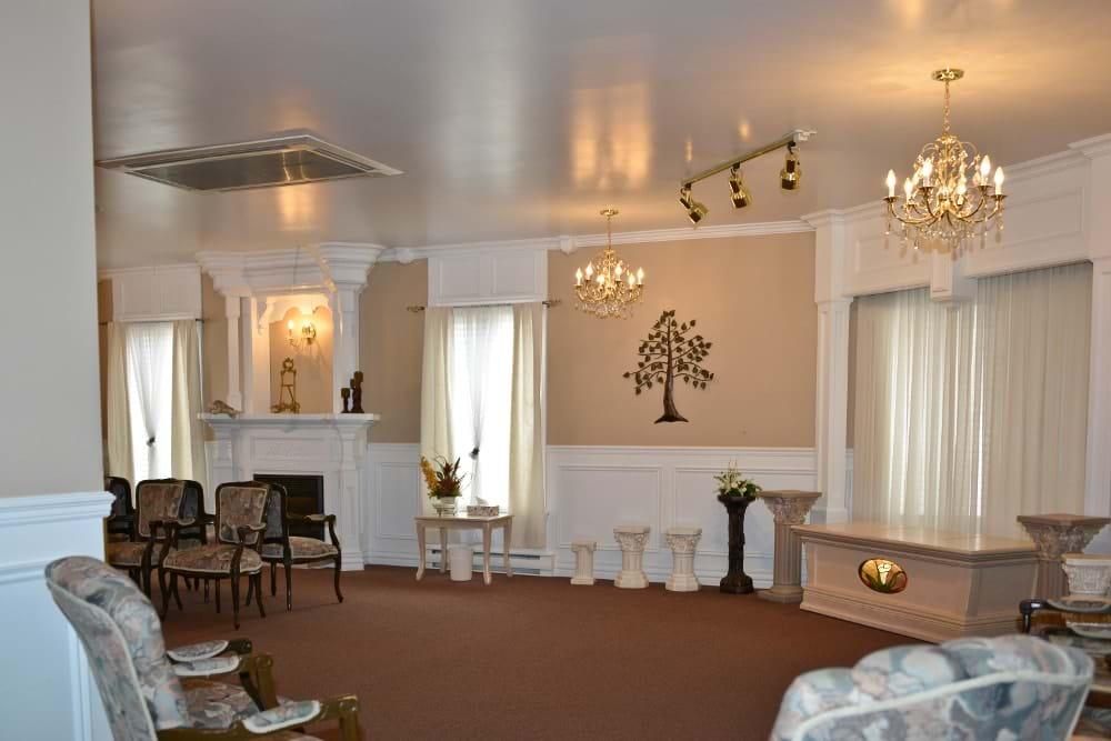 Condolence room (Rimouski)