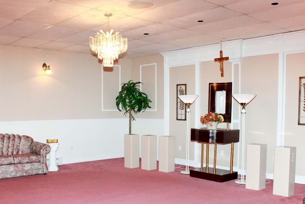 Condolence room (L'Anse-au-Griffon)