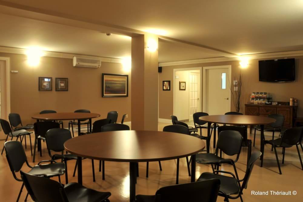 Reception room (Rimouski)