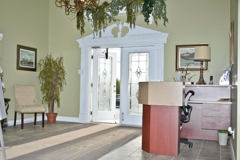 Hall d'entrée (St-Anaclet)