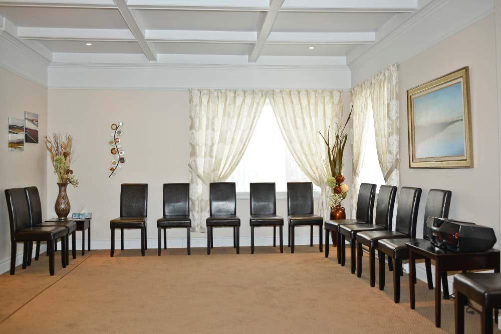 Condolence room