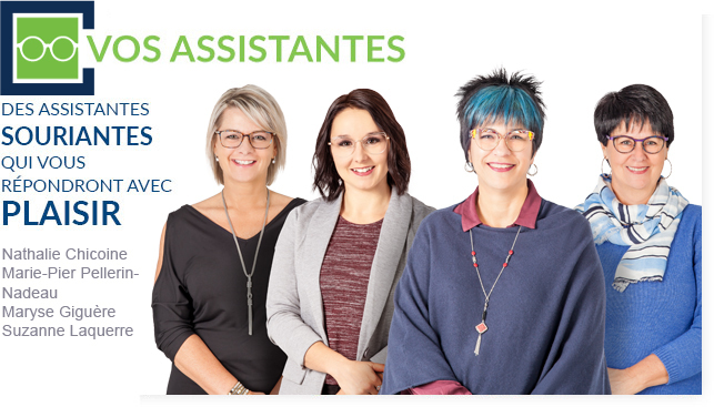 Vos assistantes