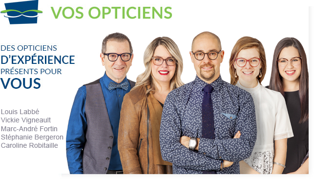 Vos opticiens
