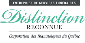 Distinction reconnue Corporation des thanatologues