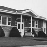 Construction du salon funéraire au 25 Beauregard