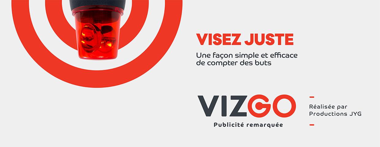 Vizgo : publicité remarquée par Productions JYG