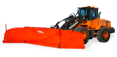 Live Edge Snow Plow | Métal Pless